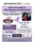 ROSA BURGIO'S ROAD TO RECOVERY - FUNDRAISER at ShoreBreak Pizza from 6 to 10!