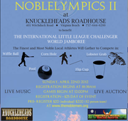 NOBLELYMPICS II - with MOCEAN at Knuckleheads Roadhouse