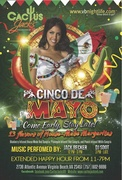 CINCO DE MAYO AT CACTUS JACKS with JACK BECKER & DJ SDOT