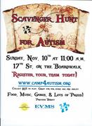 DISCOUNTED REGISTRATION HERE! -Scavenger Hunt for Autism- Register Your Team Today!