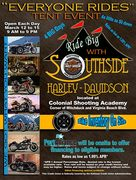 Harley Davidson Tent Event at Colonial Shooting Academy