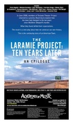 The Laramie Project: Ten Years Later, An Epilogue