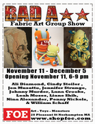 Bad A★★: Fabric Arts Group Show