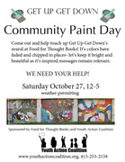 Get Up Get Down Community Paint Day