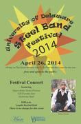 Univ of DE Steel Pan Festival 2014