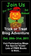 Trick or Treat Blog Adventure - hosted by Janet Beasley