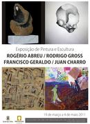 EXPOSIÇÕES: Rogério Abreu, Rodrigo Gross, Francisco Geraldo e Juan Charro