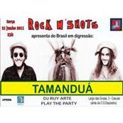 MÚSICA: Tamanduá ao vivo no Rock n Shots