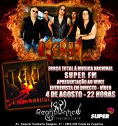 IBERIA - Showcase no Força Total à Música Nacional da RADIO SUPER FM