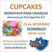 CRIANÇAS: Workshop CUPCAKES