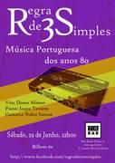 MÚSICA: Regra de 3 Simples - Concerto de Covers de Música Portuguesa
