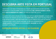 International Contemporary Art Exhibitions | 3rd Edition | ''Discover Art Made in Portugal''