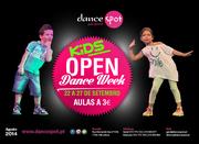 CRIANÇAS: Open Dance Week Kids - Aulas de dança a 3€