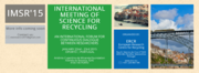 CONFERÊNCIA: IMSR'15 - International Meeting of Science for Recycling