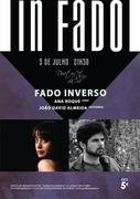 """MÚSICA: """"Fado Inverso"""" - Ana Roque & João David Almeida - Concertos IN FADO"""