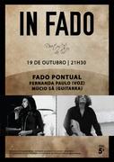 """MÚSICA: """"FADO PONTUAL"""" - Fernanda Paulo & Múcio Sá - Concertos  IN FADO"""