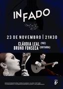 MÚSICA: Cláudia Leal & Bruno Fonseca - Concertos IN FADO