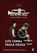 MÚSICA: Luís Cunha & Paula Sousa  - CONCERTOS ALFAMA JAZZ