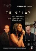 MÚSICA: TRI4PLAY - Artur Jordão, Luís Filipe Martins & Diana Cravo