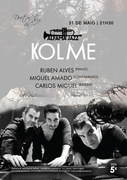 MÚSICA: Kolme - Ruben Alves, Miguel Amado & Carlos Miguel - Concertos Alfama Jazz