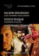 MÚSICA: Nilson Dourado, Diogo Duque & Katerina L´Dokova