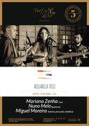 """""""AQUARELA TRIO"""" - MARIANA ZENHA, NUNO MELO & MIGUEL MOREIRA - CONCERTO NO DUETOS DA SÉ, ALFAMA, LISBOA"""