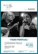 """""""FADO PONTUAL"""" – FERNANDA PAULO E MÚCIO SÁ – EM CONCERTO """"IN FADO"""" DO DUETOS DA SÉ, ALFAMA, LISBOA"""