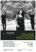 """MÚSICA: """"Quase um Fado"""" – Nadine Brás, Artur Mendes & Nuno Tavares"""