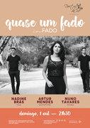 """MÚSICA: """"Quase um Fado"""" – Quase um Fado""""  Nadine Brás, Artur Mendes & Nuno Tavares"""