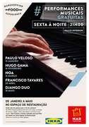 MÚSICA: Hugo Gama em performance no MAR Shopping Matosinhos