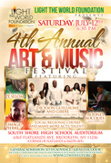 Ligth the World Foundation: 4th Annual Arts & Music Festival