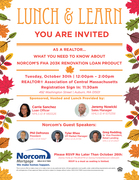 Lunch and Learn - Norcom's FHA 203K Renovation Loan Product