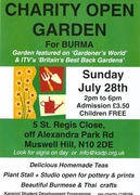 Charity  Garden party