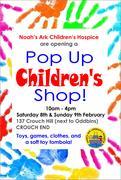 Pop Up Children's Shop