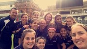Girls Cricket Practice with Middlesex Head of Womens Cricket