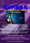 """Cinema Politica Film Presentation: """"Rumble: The Indians Who Rocked The World"""""""