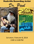 Dr. Paul at the Old Florida Outdoor Festival
