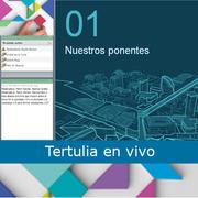 Tertulia en vivo con Ana María Valenzuela