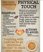 5 love languges physical touch