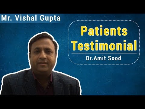 PATIENT TESTIMONIAL | DR AMIT SOOD |LAPAROSCOPIC HERNIA SURGERY | LAPAROSCOPIC SURGEON