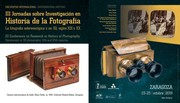 III Conference on Research in History of Photography. The Stereoscopic or 3D photography, 19th and 20th centuries