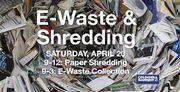 E-Waste & Shredding Event