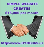 Shaking Hands Thru Cell Phones - $15,000 per month