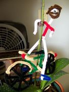 pipecleaner bike ted!