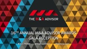 16th Annual M&A Advisor Awards Gala Reception