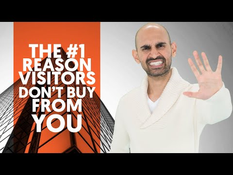 Neil Patel: Why your visitors don't buy anything from you?