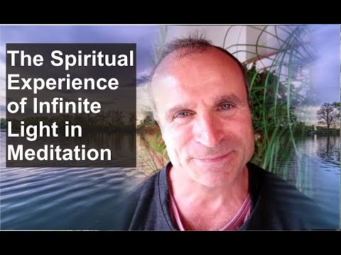 The Spiritual Experience of Infinite Light in Meditation | Real Pineal Activation Experience