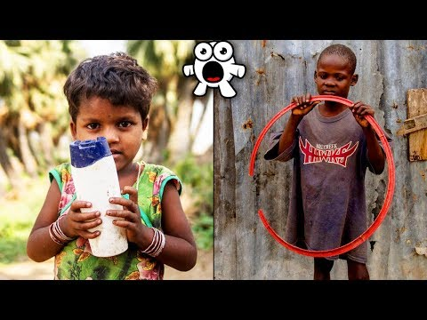 Kids Around The World Show Their Favourite Toys, The Results Will Make You Think