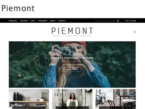 Magazine Wordpress Theme - Wp Web Themes