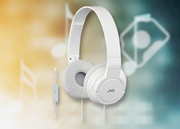 JVC HASR185WE white - Foldable Headphones with Microphone